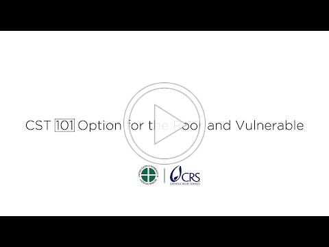 CST 101 | Option for the Poor and Vulnerable
