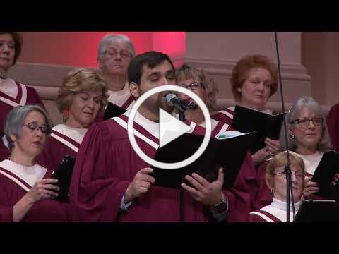 """""""Surely the Presence of the Lord is in This Place"""" - The Woodlands UMC Chancel Choir"""