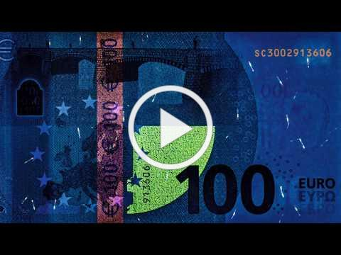 Europa Series: 100 Euro Banknote Security Features