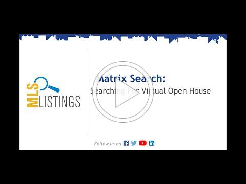 Searching For Virtual Open House