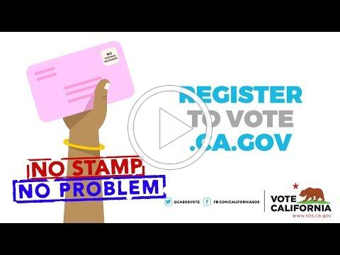 Vote By Mail Postage Paid Return Envelopes
