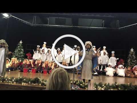 2018 StJPII Kindergarten Christmas Program
