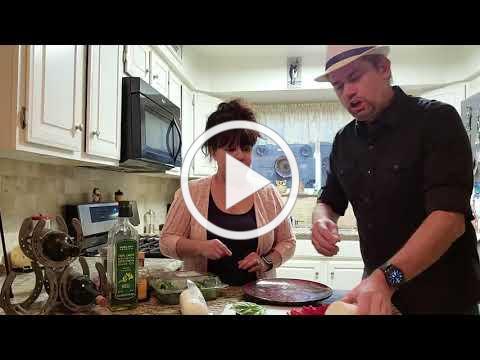 """Caprese Salad"" Recipe Video with Lisa & Mark Steidl"
