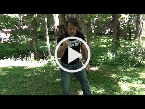 Mark Hatmaker demos a Lumberjack Jam