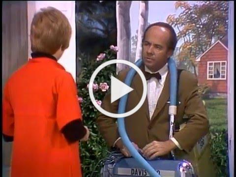 Vacuum Salesman from the Carol Burnett Show (Full Sketch)