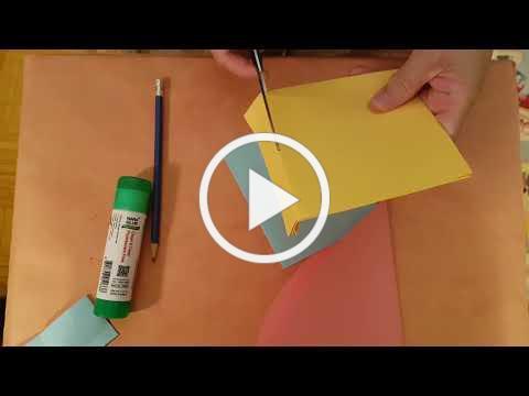 (Cantonese) 做手工: 爱心❤卡。Craft : Pop up heart card - from Basteln mit papier : craft ideas