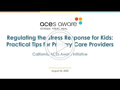 Regulating the Stress Response for Kids: Practical Tips for Primary Care Providers