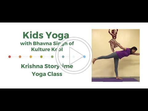 Kids Yoga: Krishna Storytime Yoga Class