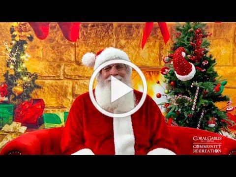 Community Recreation Santa Special Message