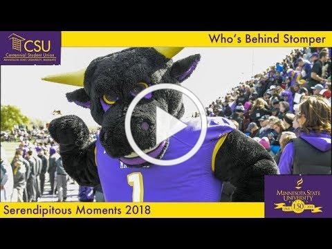 Who's Behind Stomper- Serendipitous Moments MNSU Mankato October 2018