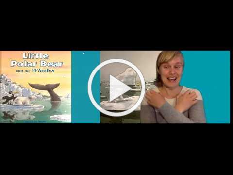 Live Library Storysigning (recorded) Little Polar Bear and the Whales