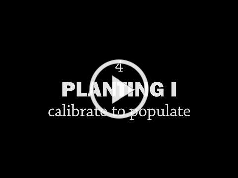 Rotationally Raised - Planting I: Calibrate to Populate