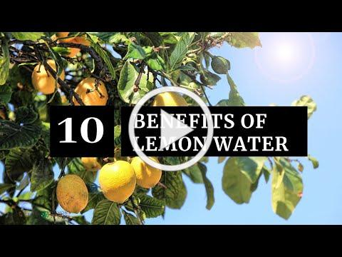 10 Benefits of Drinking Lemon Water | Limoneira