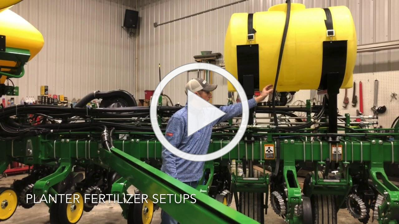 Planter Fertilizer Setups