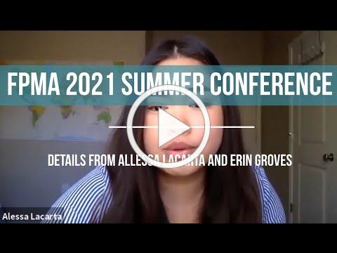FPMA SUMMER 2021 CONFERENCE - Interview with Alessa Lacarta and Erin Groves