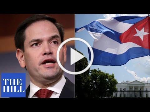 Marco Rubio gives passionate speech in support of Cuban protesters, rails against Cuban government