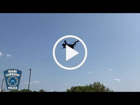 Miami Township PD drone demonstration Sept 2020