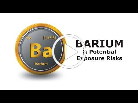 Barium and Potential Exposure Risks