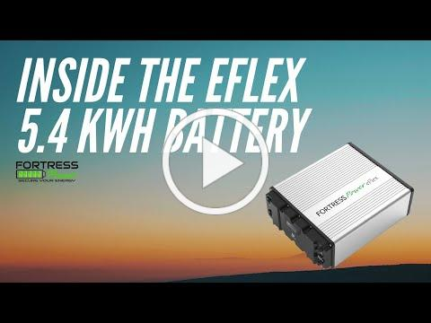 Inside the Fortress Power eFlex 5.4 kWh Battery