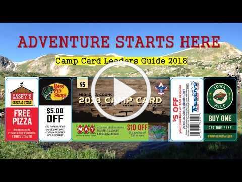 Camp Card 2018