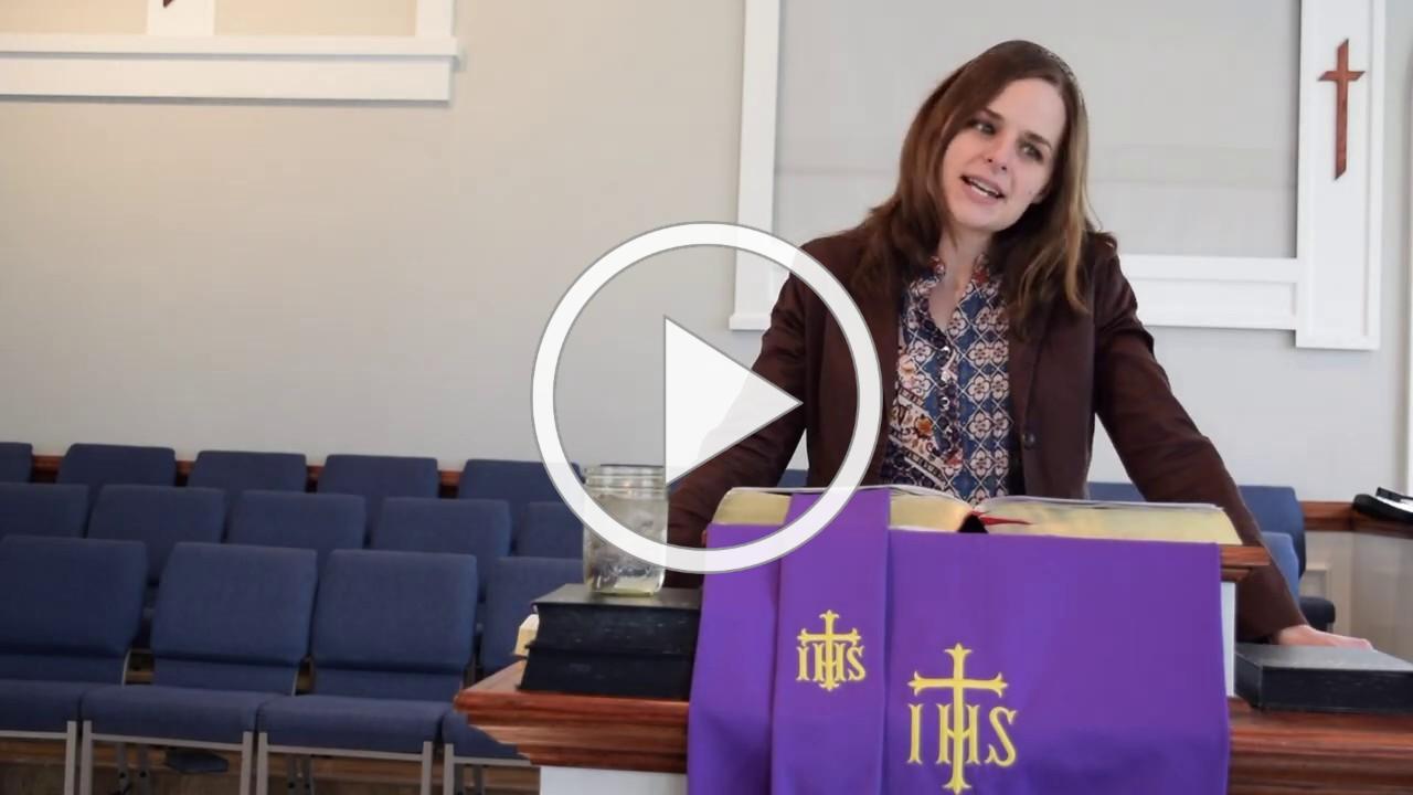 Palm Sunday sermon 4/5/20