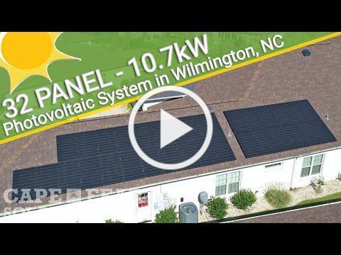 Residential Solar Power System - Wilmington, NC