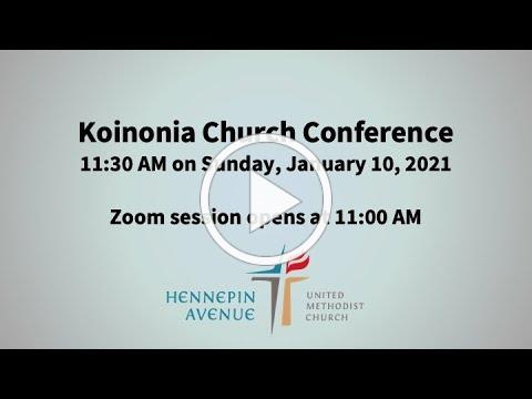 Koinonia Church Conference overview