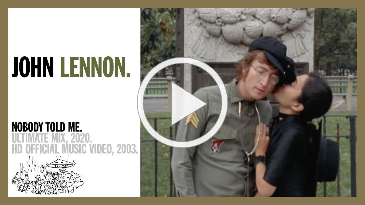 Nobody Told Me - John Lennon (official music video HD)