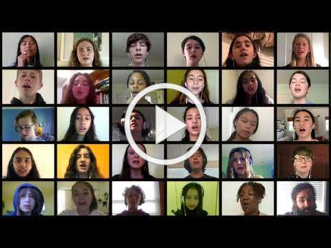 BUSD Lean On Me Virtual Choir