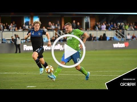 Alcatel Play of the Match: Jordan Morris calls game in stoppage time