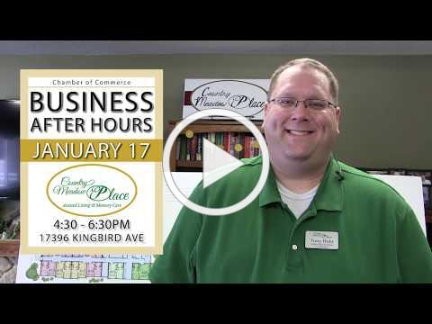 Business After Hours hosted by Country Meadow Place