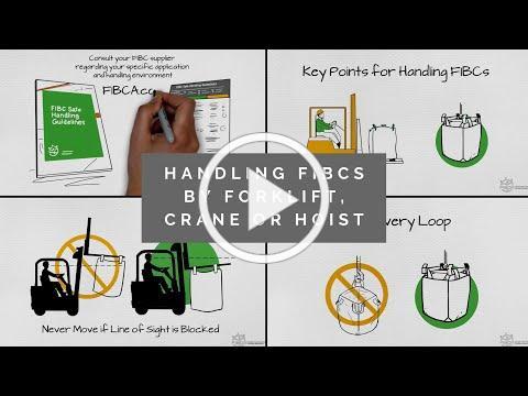 FIBC Safe Handling Guidelines - Handling by Forklift, Crane or Hoist