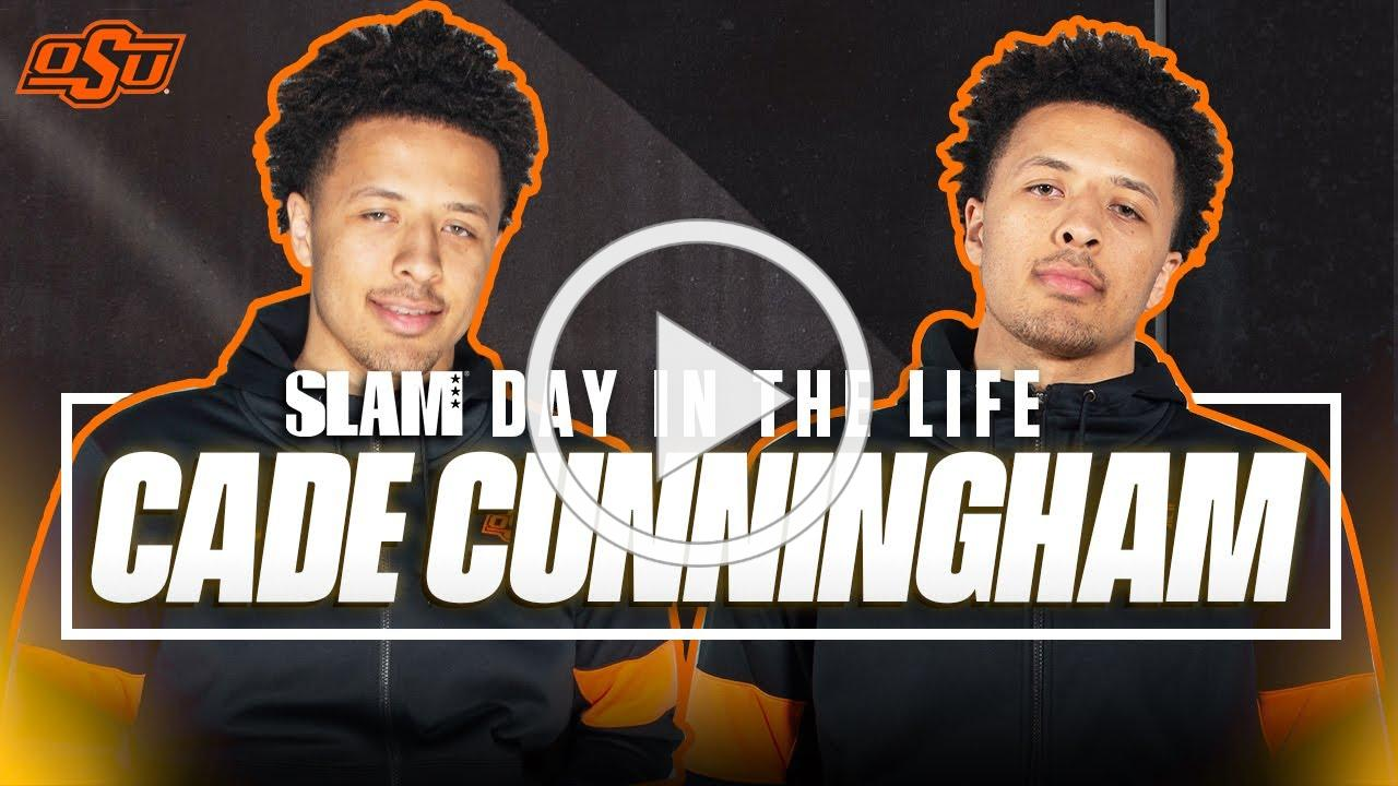 Cade Cunningham is the ONLY HS Hooper on that Vegan Lifestyle   SLAM Day in the Life