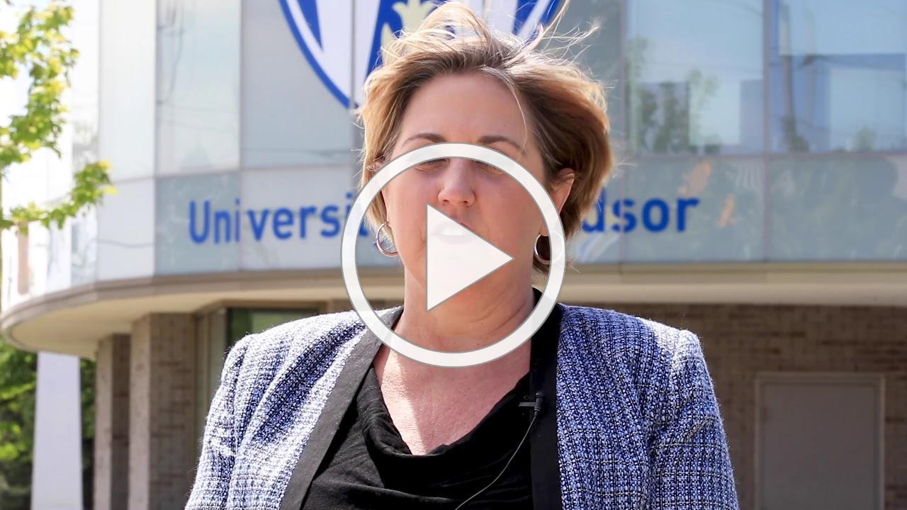 UWindsor Alumni President addresses 2020 Spring Convocation