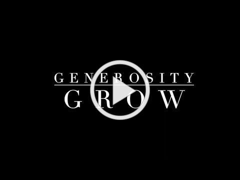 Generosity - Grow