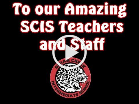 SCIS student video for teachers and staff