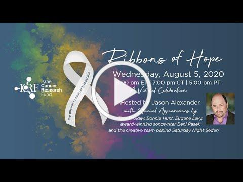 2020 ICRF Ribbons of Hope Virtual Celebration Hosted by Jason Alexander