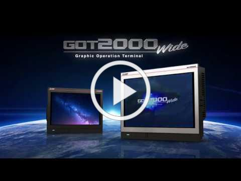 Mitsubishi Electric - GOT2000 Widescreen HMI