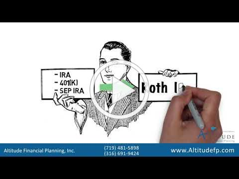 Roth IRA, Contribute or Convert - Altitude Financial Planning