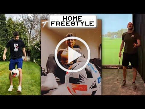 Football Stars Doing Freestyle & Skills 🤹 [NEW]