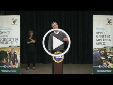 Governor Newsom, Pro Tem Atkins & Speaker Rendon provide update vaccines & schools reopening