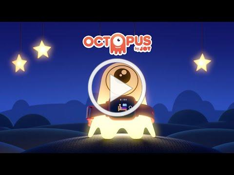 Octopus Watch by Joy, the training wheels for good habits. Animation.