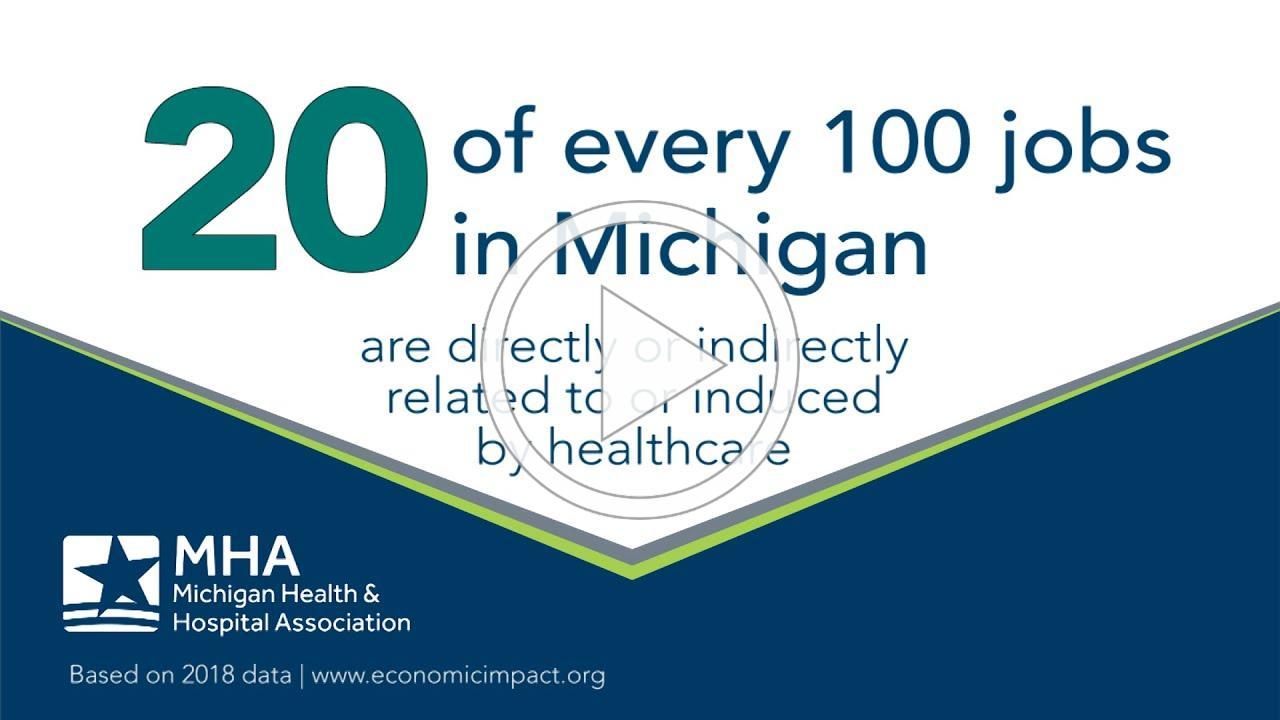 Economic Impact of Healthcare in Michigan 2020