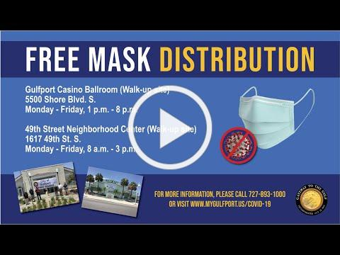 City of Gulfport Public Service Announcement on the Importance of Masks