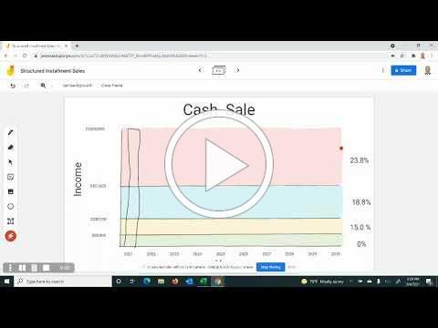 Structured Installment Sale Case Study