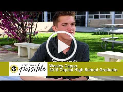 Boise and Beyond - 2019 Graduate Profiles - Wesley Capps