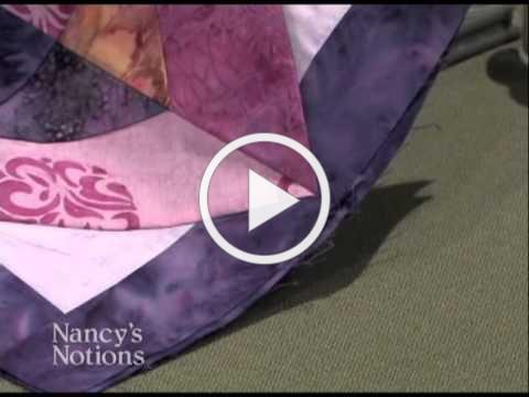 Discover the secrets to prize-winning quilt seams