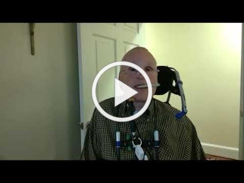 Quadriplegic letter writing tutorial