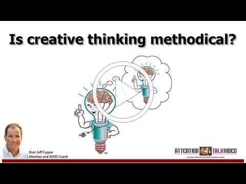 ADHD: Methodical vs Insightful Thinking