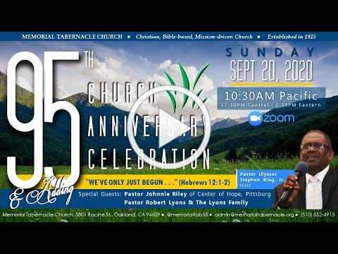 Memorial Tabernacle Church's 95th Anniversary Celebration